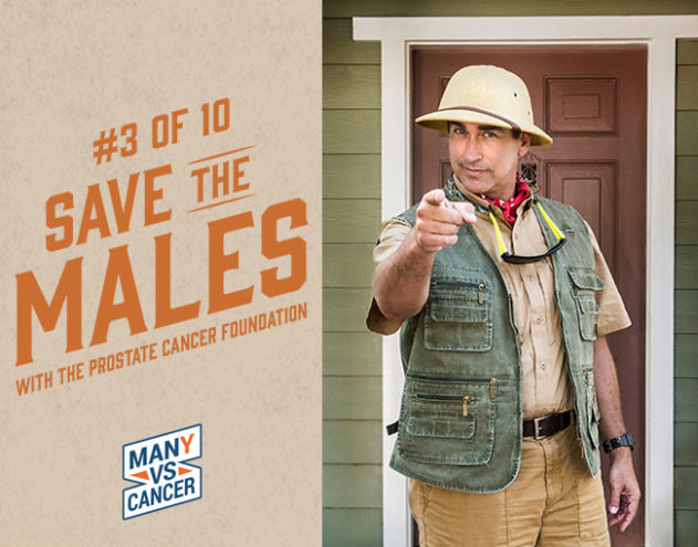 It's Prostate Cancer Awareness Month!